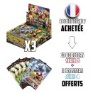 Lot de 3 Boites de 24 Boosters Dragon Ball Série 7 Assault of the Saiyans VF