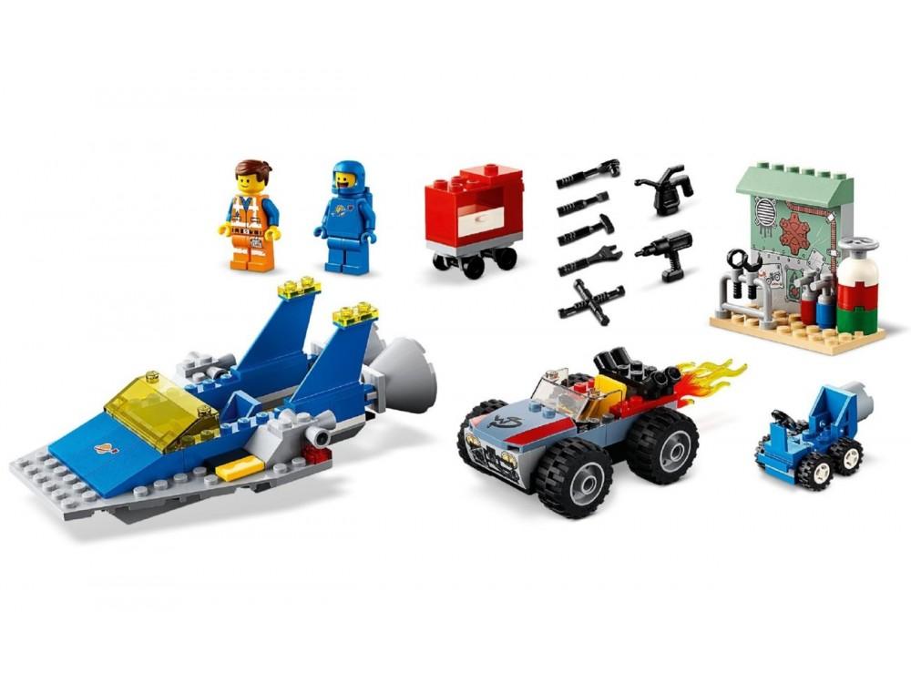 Construire Movie Réparer D'emmet Lego® Benny L'atelier Et 2 3cLAR45jq