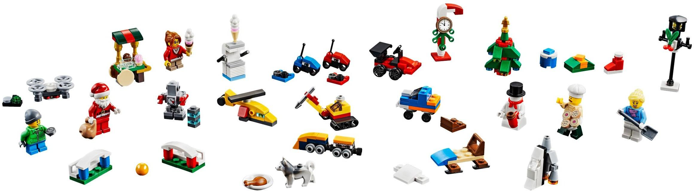 Le Calendrier City L'avent De 60201 Lego® QdrxsCth