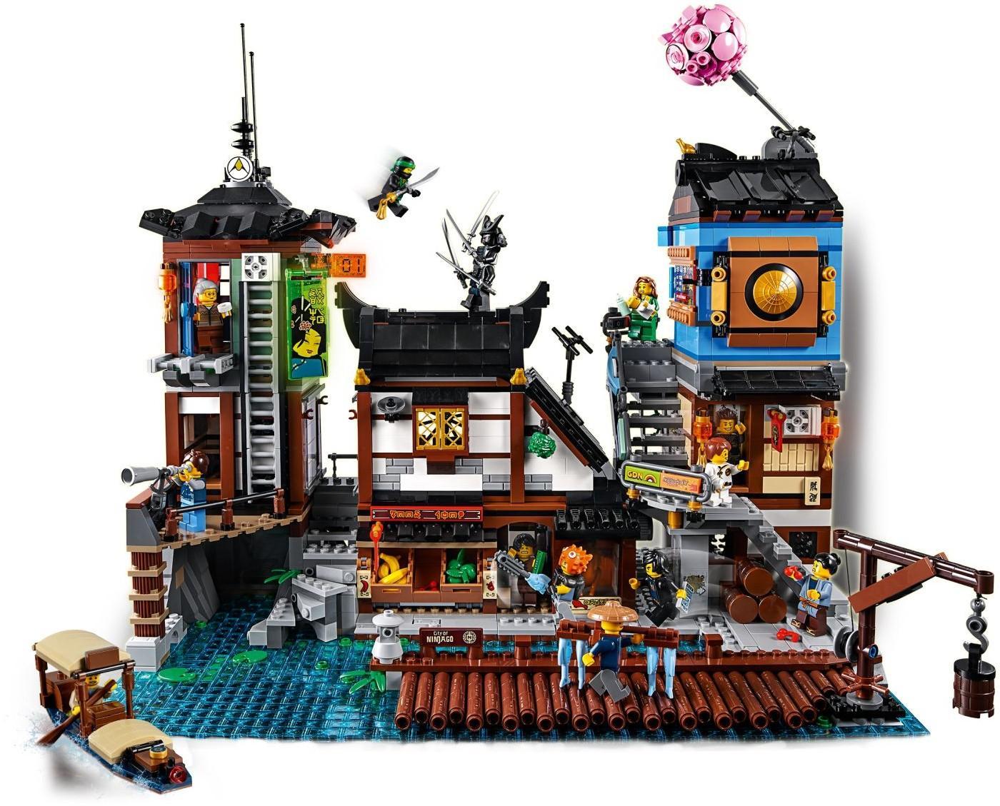Quais Ville Les La Lego® Ninjago® De Ninjago ALc35jRq4