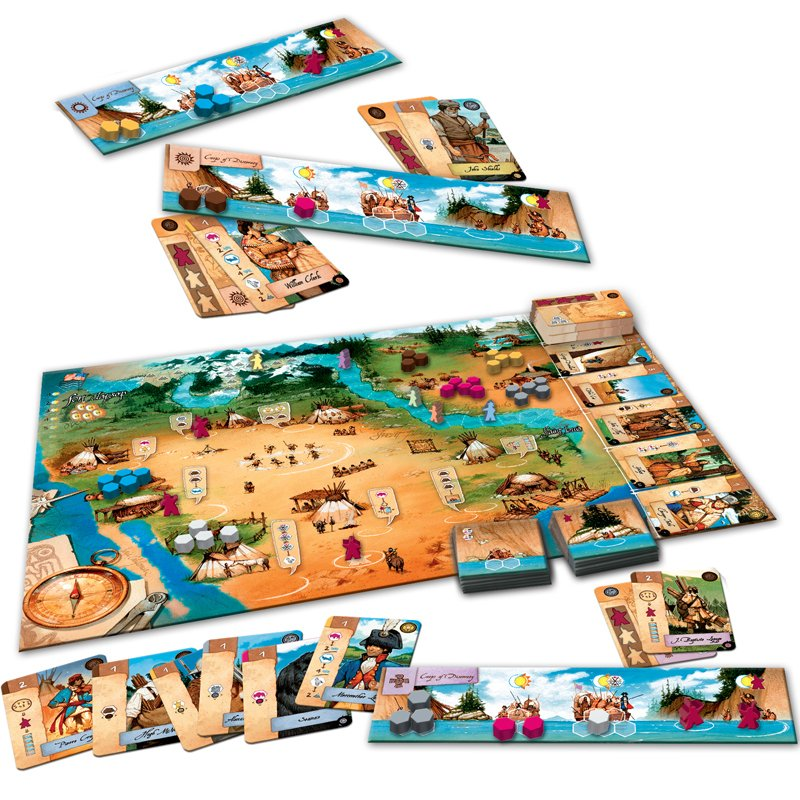 Lewis & Clark : The Expedition - Acheter vos Jeux de société pour passionnés & experts - Playin by Magic Bazar