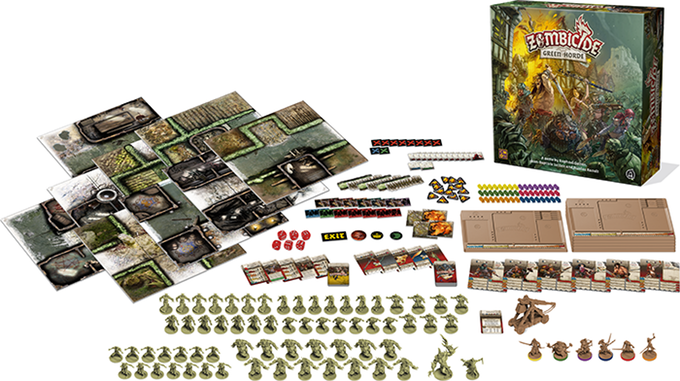 Green Horde Zombicide Black Plague Magic Bazar