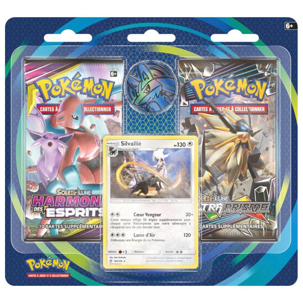 Duopack Pokémon Soleil Et Lune Janvier 2020 Silvallié Vf