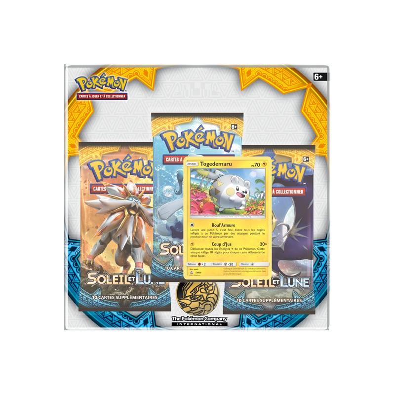 Tripack Pokémon Soleil Et Lune Togedemaru