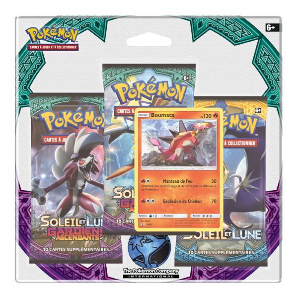 Tripack Pokémon Gardiens Ascendants - Boumata
